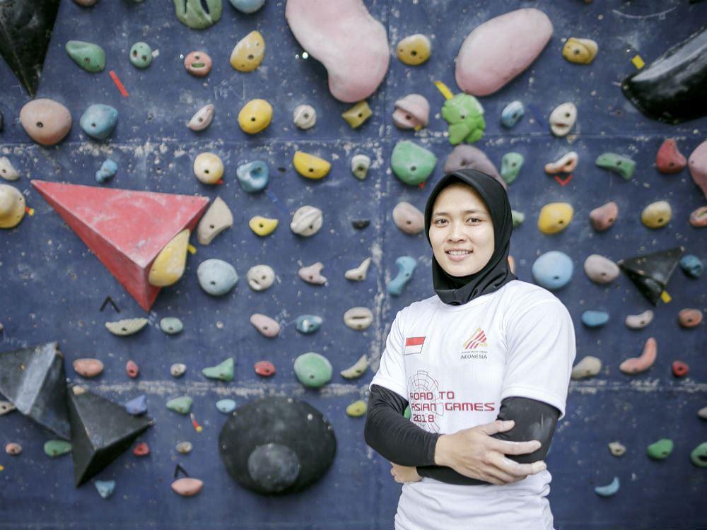 Aries Susanti, Atlet Panjat Tebing Wanita Indonesia yang dijuluki Spiderwoman